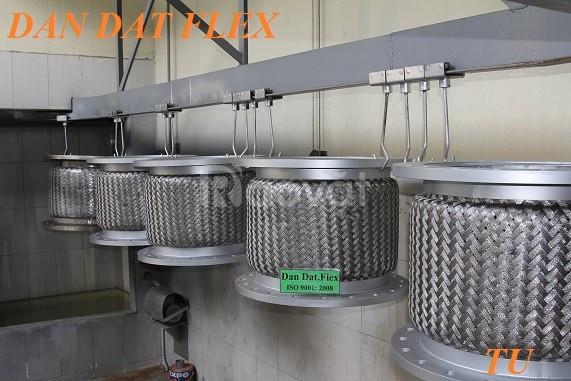 Bảng vẽ: ống bù trừ giãn nở nhiệt,khớp giãn nở nhiệt inox,ống mềm inox