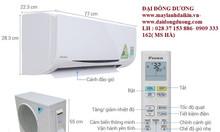 Giảm giá mạnh dòng máy treo tường ftkq35savmv/rkq35savmv- 1.5hp