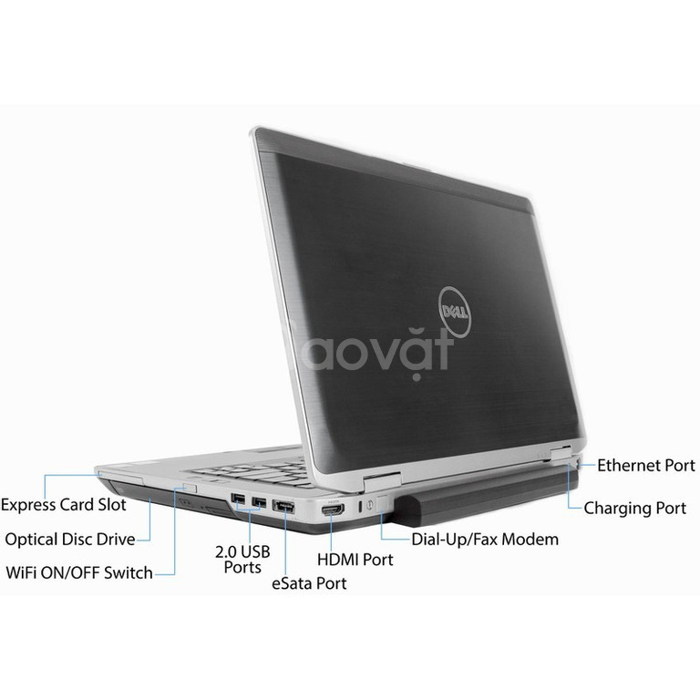 Laptop Dell latitude E6430 i5 3320 4G 320G 14in văn phòng Game 3D