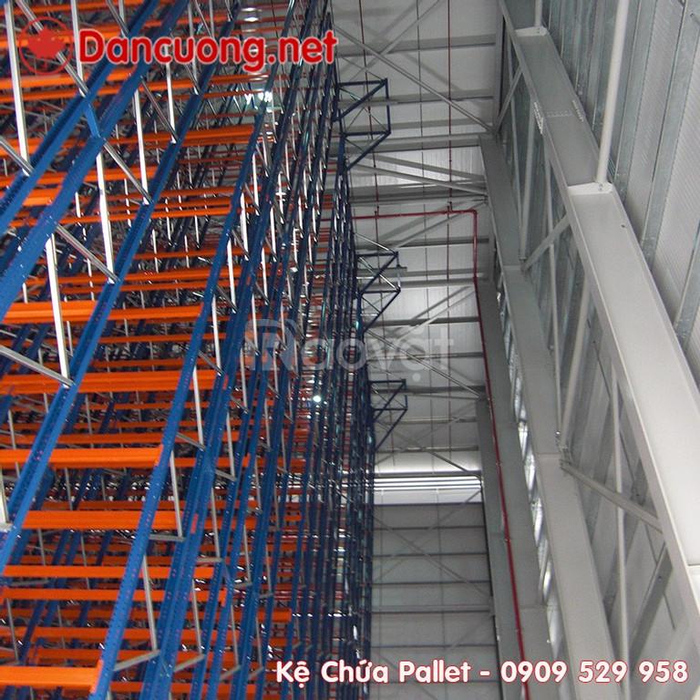 VNA pallet racking Dan Cuong giúp tối ưu không gian của nhà kho