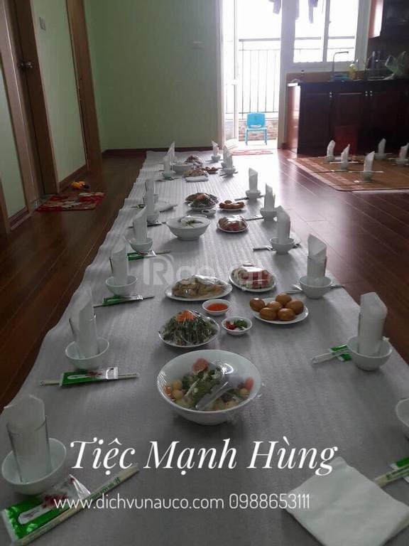 Dịch vụ nấu cỗ tại nhà khu vực Bắc Từ Liêm Hà Nội