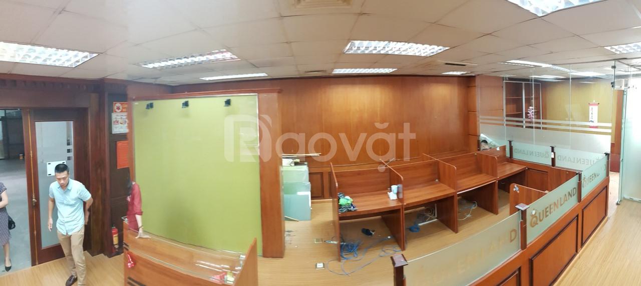Văn phòng tầng 1 sang trọng, rộng tại toà VIMECO - Phạm Hùng