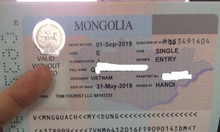 Làm visa đi Mông Cổ du lịch