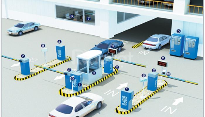 Cung cấp hệ thống giữ xe thông minh PTP - SP