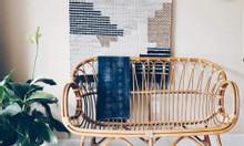 Băng ghế sofa mây tre đan