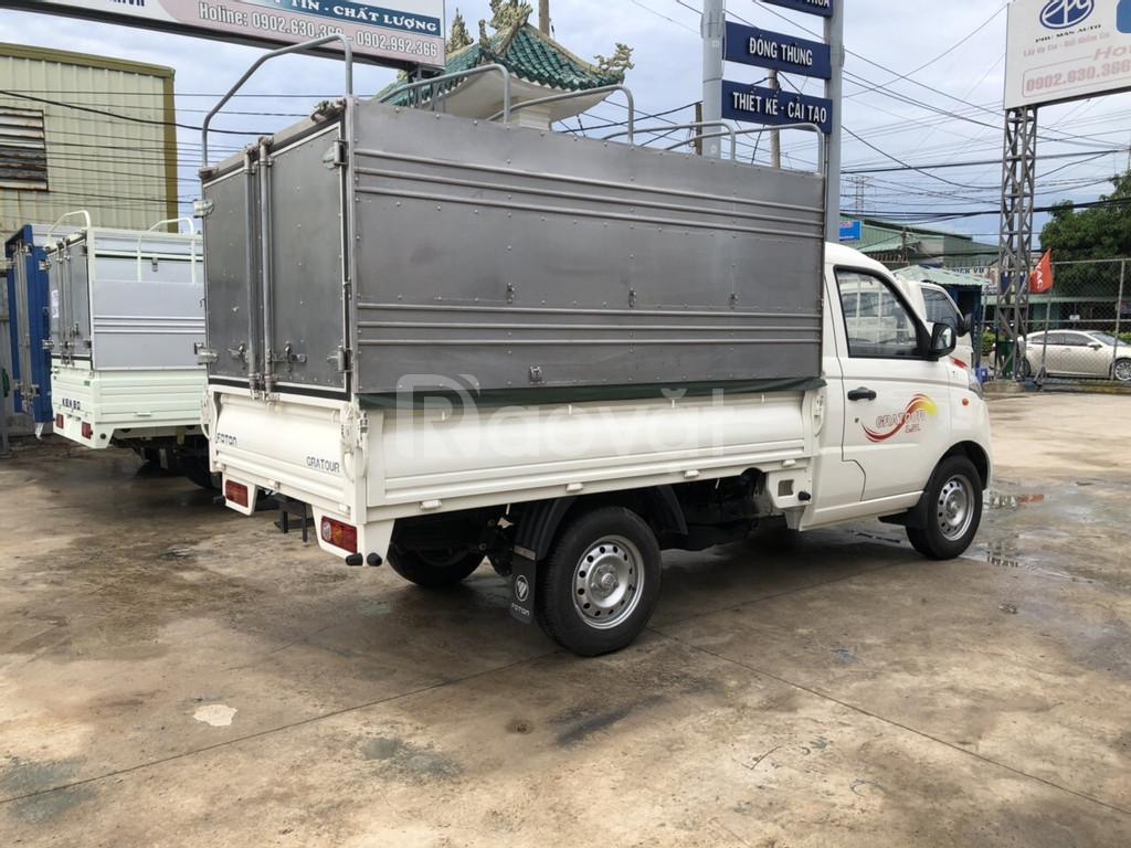 Xe tải nhỏ Foton Grapto, bền bỉ theo năm tháng, dễ thu hồi vốn
