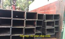 Thép hộp 70x140,sắt thép nhập khẩu phi 70x140,75x150...sắt hộp kẽm 70