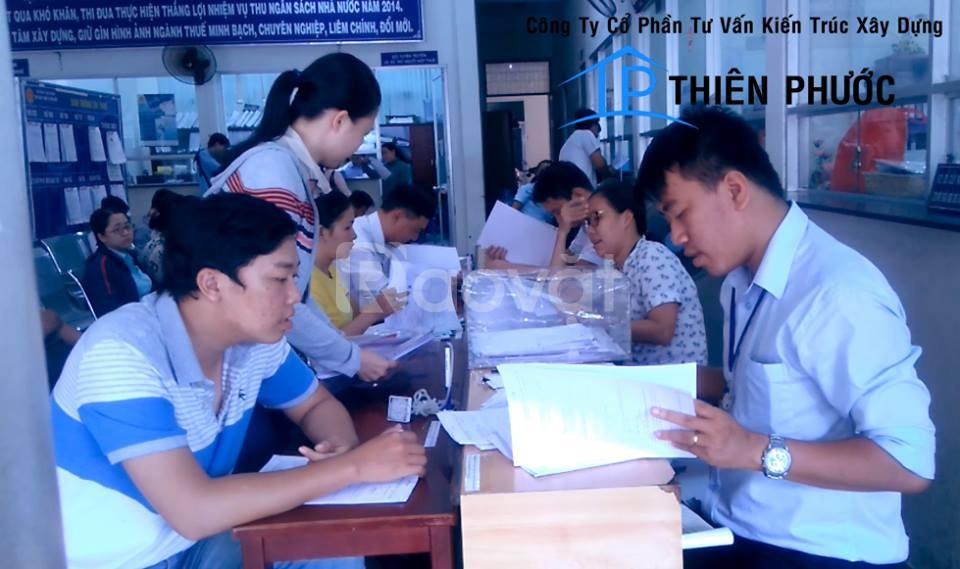 Làm giấy tờ xin phép xây dựng - hoàn công nhà nhanh Bình Thạnh