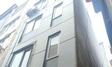 Cần bán nhà lô góc Pháo Đài Láng 34m2 6 tầng mặt tiền 4m