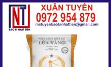 Bao pp dệt đựng 40kg bột mì