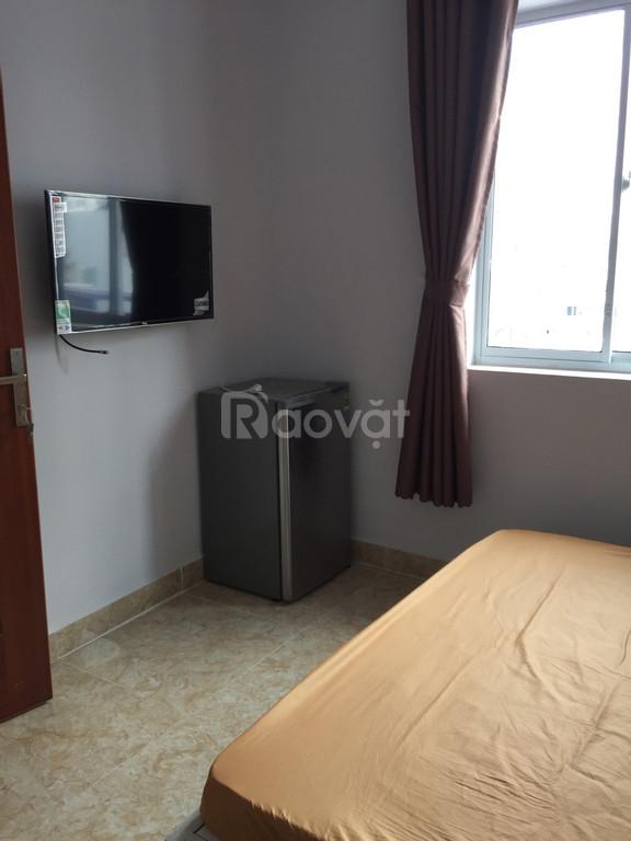 Căn hộ mini Q.7 30m2 1 phòng, 1 toilet- máy lạnh, giường tủ quần áo