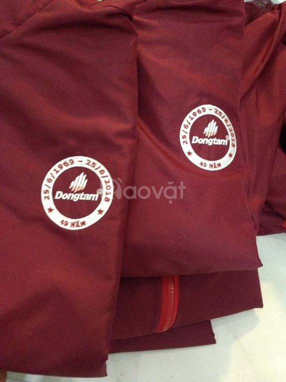 Xưởng may áo gió quà tặng, may áo khoác giá rẻ