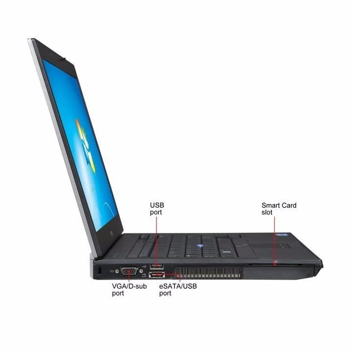 Laptop Dell Latitude E6410 i5 2.5Ghz 4G SSD 120G mới bảo hành ssd