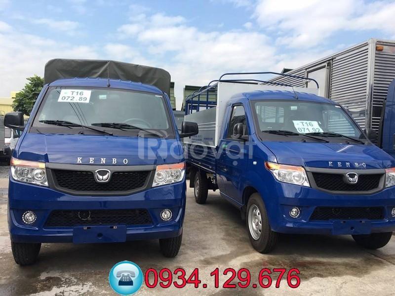 Bán xe tải Kenbo 990kg thùng bạt/kín/lửng
