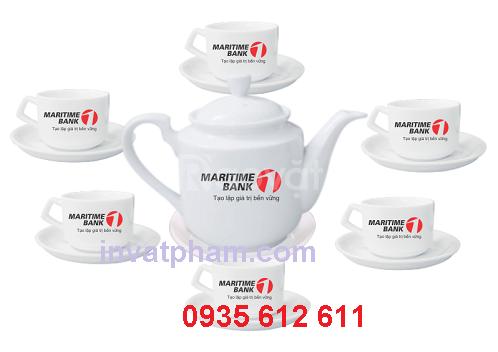In bộ ấm trà Quảng Ngãi, In ấm trà quà tặng tại Quảng Ngãi
