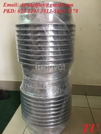 Dây dẫn nước mềm inox 304, ống mềm PCCC, khớp co giãn nở (ảnh 4)
