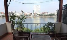 Bán iệt thự sân vườn 4 mặt thoáng phố Võng Thị, 150m2, nằm sát Hồ Tây
