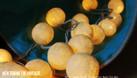 Đèn treo phòng ngủ - Đèn cotton ball - Bộ full vàng nắng (ảnh 5)