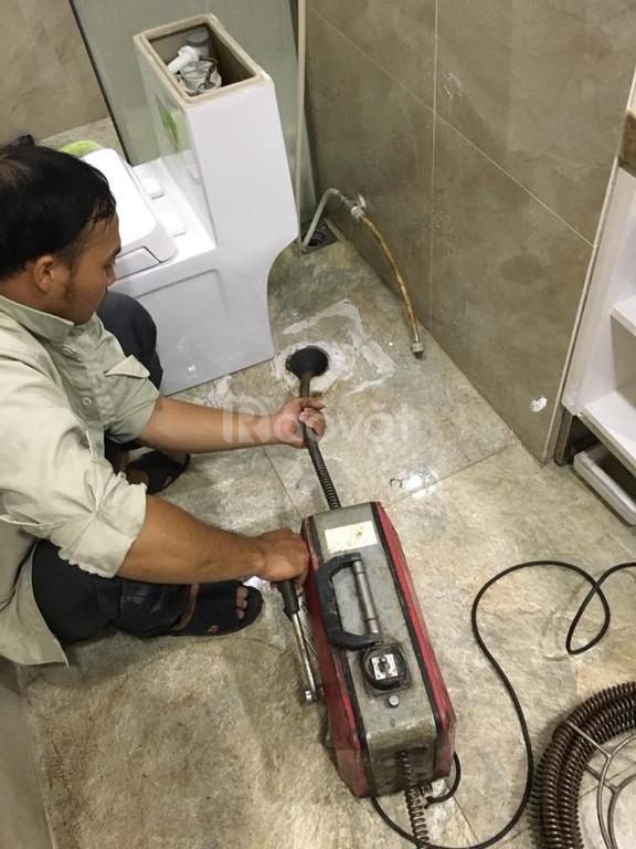 Thông tắc bồn cầu cống rãnh tại Hà Nội giá rẻ uy tín