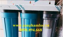 Bộ ba cốc 20 inch gầy xử lý nước cho sinh hoạt trong hộ gia đình