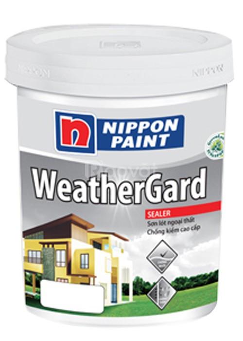 Cung cấp sơn nước Nippon ngoại thất Weather Gard bóng giá tốt (ảnh 1)
