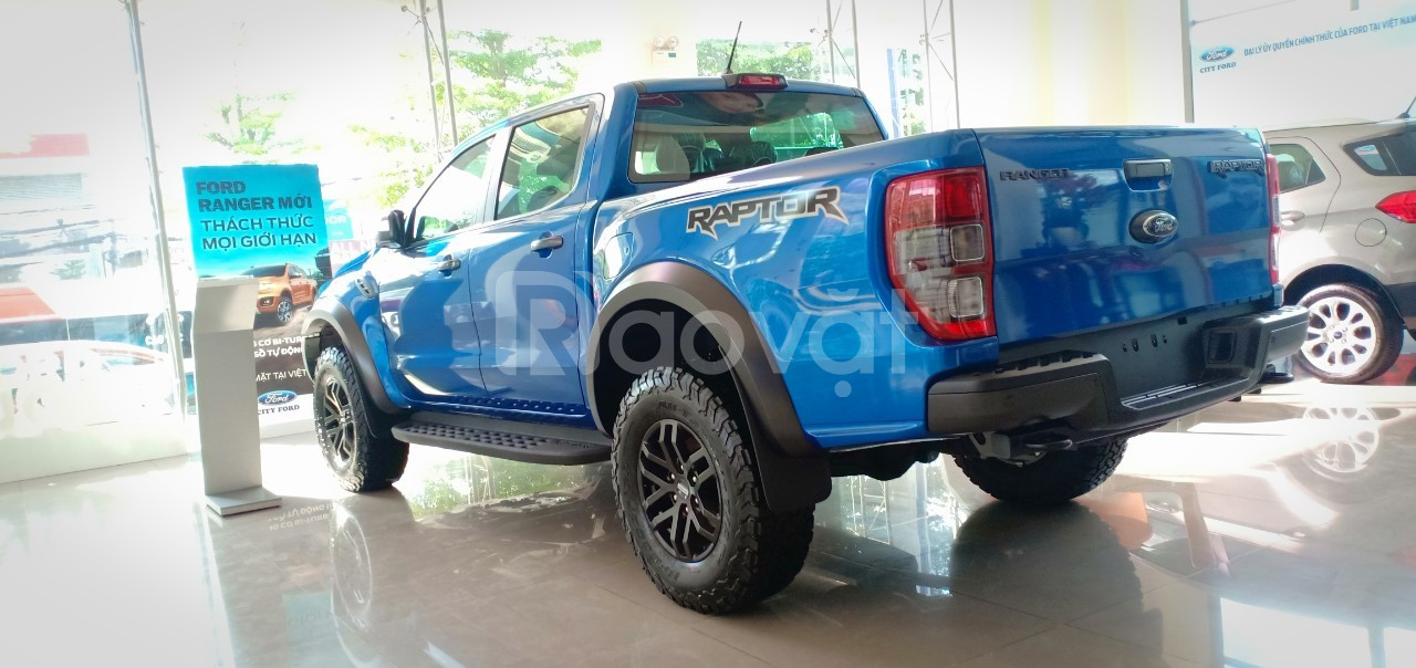 Ranger Raptor, mãnh thú uy lực của Ford, ưu đãi ngập tràn