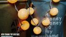 Đèn treo phòng ngủ - Đèn cotton ball - Bộ full vàng nắng (ảnh 1)
