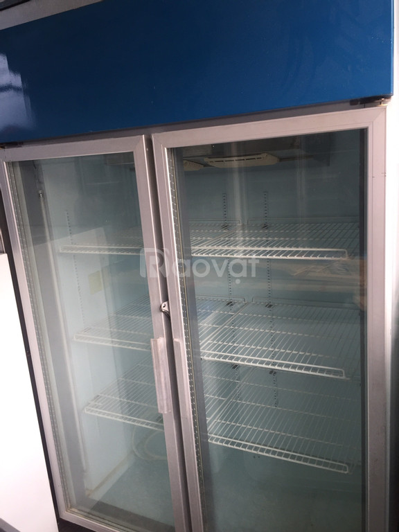 Tủ mát Sanyo 1000l mới 89%, free ship HCM