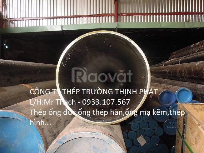 Thép ống đúc phi 114/dn 100, ống sắt đen phi 114, ống đúc lò hơi sch80