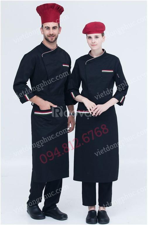 Công ty may đồng phục đầu bếp nhiều mẫu mã đẹp, giá rẻ, chất lượng