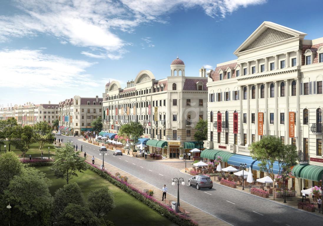 Shophouse Europe vị trí đắc địa, cam kết mua lại 130% sau 8 năm !