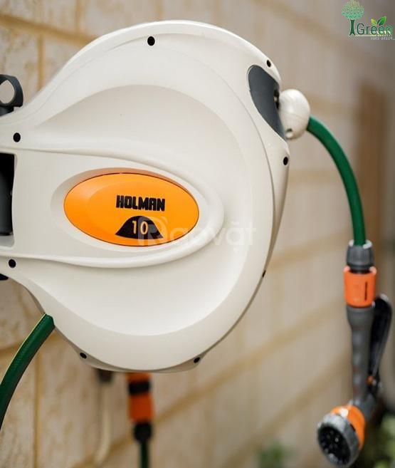 Ống cuộn tưới vườn thu dây tự động 10m Holman – Úc