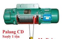 Pa lăng cáp điện dầm đơn CD1 1 tấn, 3 tấn, 2 tấn, 5 tấn