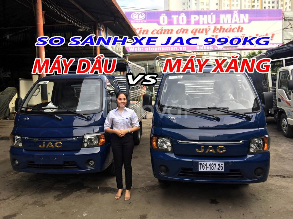 Chuyên bán xe tải JAC 990kg, 1 tấn 25 , 1 tấn 49 giá cả cạnh tranh