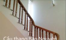 Bán tay vịn lan can cầu thang gỗ lim Nam Phi