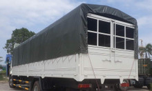 Xe tải faw 8 tấn thùng dài 9m7 chỉ cần 300 triệu nhận xe