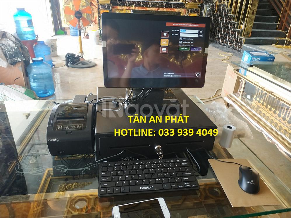 Máy tính tiền cảm ứng dùng cho quán karraok tại Vũng Tàu