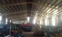 Cho thuê xưởng khu vực Tân Uyên, trong xưởng có căn biệt thự.