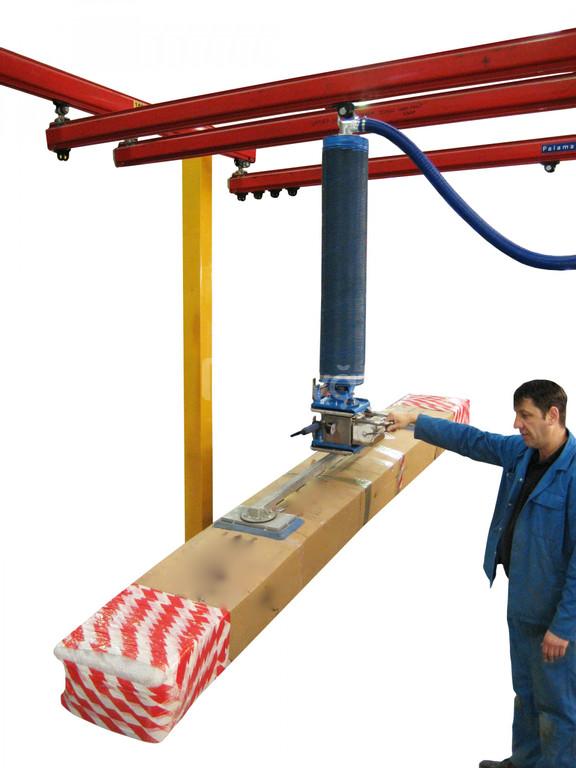 Thiết bị nâng chân không dùng di chuyển thùng carton, hộp carton