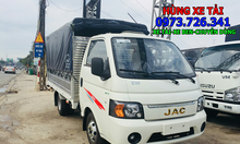 Xe tải JAC 1t25 thùng dài 3m2 bánh đôi.