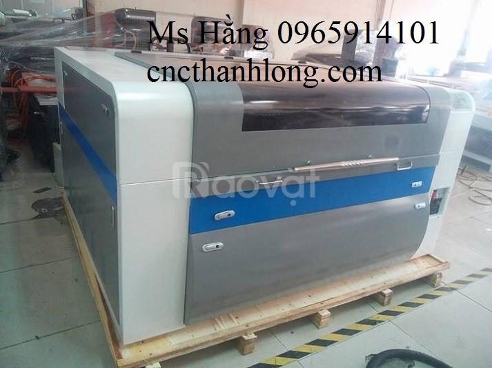 Máy laser cắt vải 1610- 2 đầu, máy laser khổ lớn, máy cắt khắc laser
