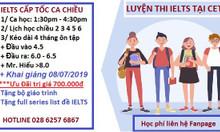 Mở lớp IELTS cấp tốc tháng 7 8 quận Gò Vấp