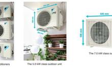 Máy lạnh Multi-S Daikin làm lạnh cho tối đa 3 phòng chỉ cần 1 cục nóng
