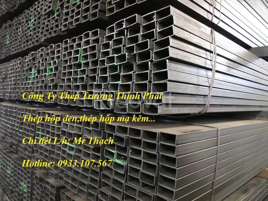 Thép hộp 30x60, 40x80,sắt hộp mạ kẽm 30x60,sắt hộp chữ nhật 30x60...