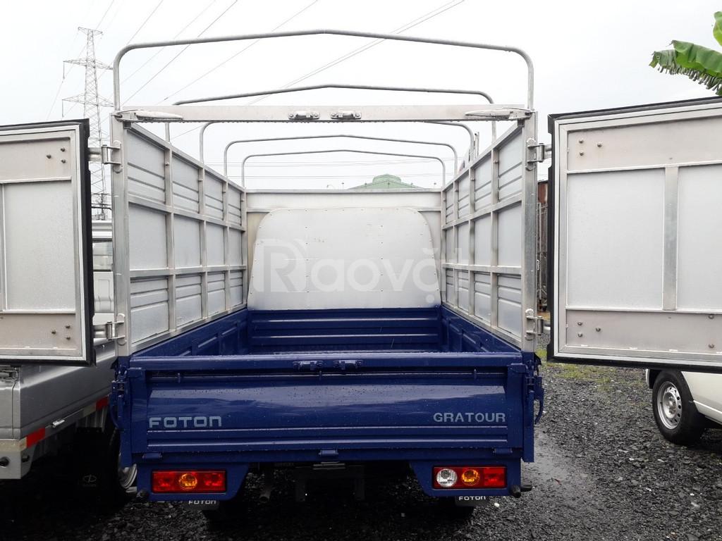 Xe Foton 1.5L thùng mui bạt 850kg  đời 2019