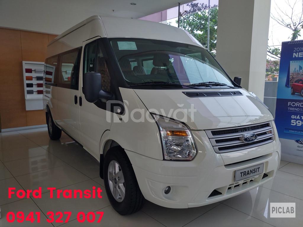 Ford transit giá tốt, KM BHVC, hộp đen, ghế da