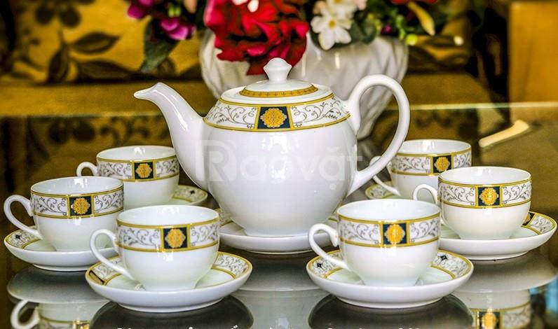 Xưởng in logo bộ ấm trà tại Đà Nẵng