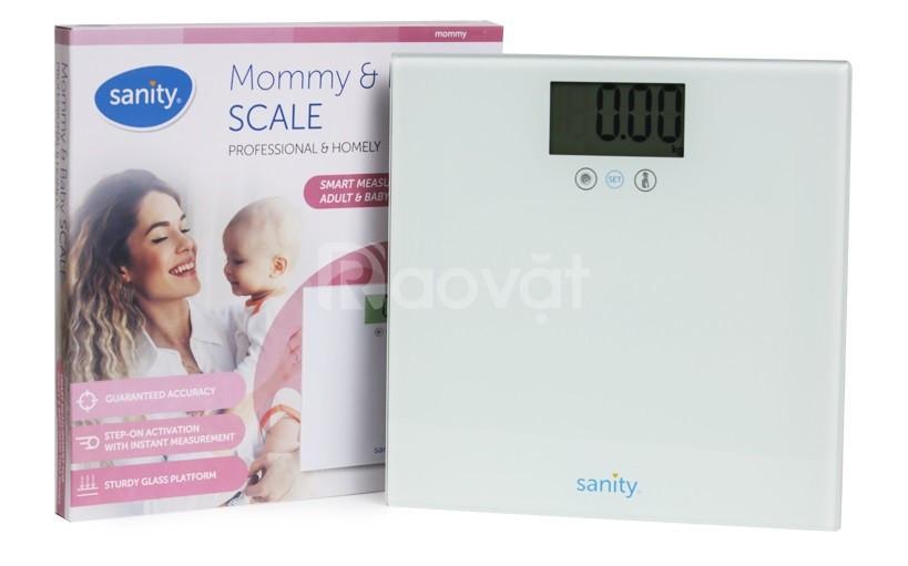 Cân sức khỏe cho mẹ và bé Sanity