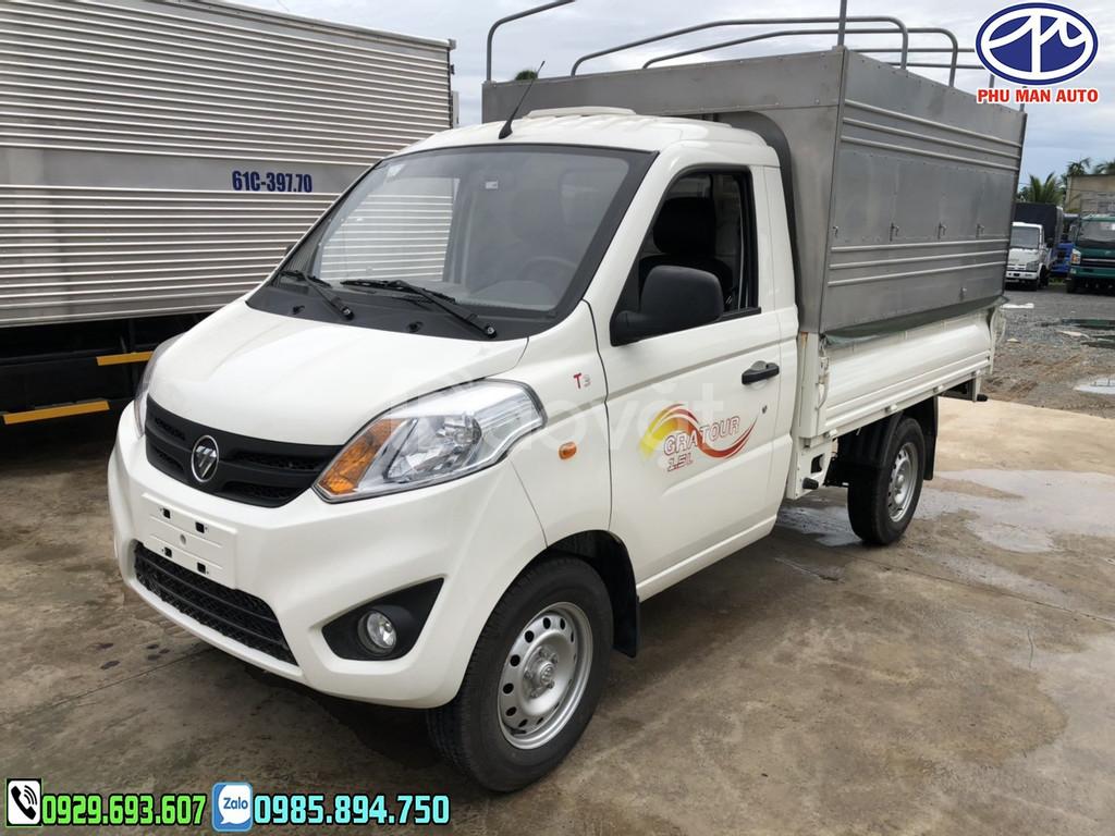 Foton 990kg  – Xe tải 990kg Foton nhập khẩu nguyên chiếc | máy DAM 1.5