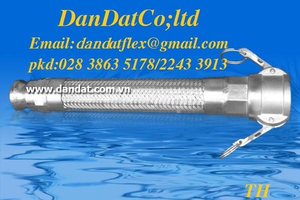 Ống mềm sprinkler pccc/ống mềm inox/khớp nối mềm inox,..Cty Dân Đạt. (ảnh 3)
